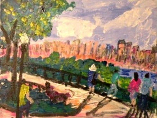 Painting by Robert Sundholm