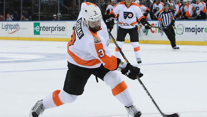 Flyers defenseman Radko Gudas will be offered an in-person hearing for his hit on Austin Czarnik.