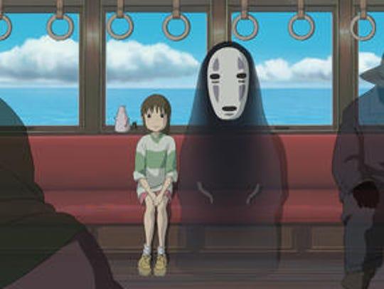 """Hayao Miyazaki's 2001 Oscar-winning classic, """"Spirited"""