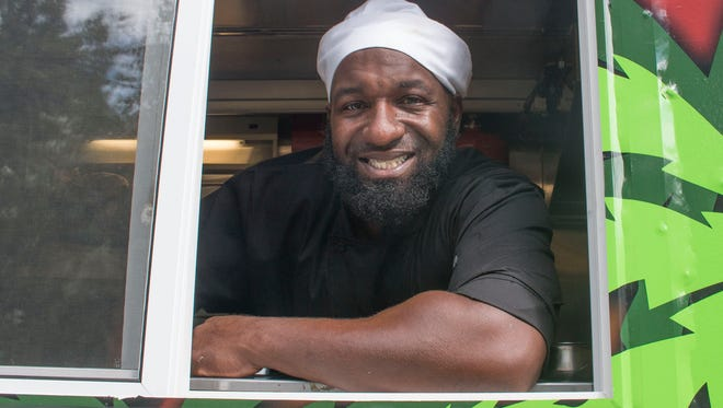 Rondell Donaldson, with his fiancee Renee Campbell, own the Caribbean food truck and catering company Caribbean Soul.