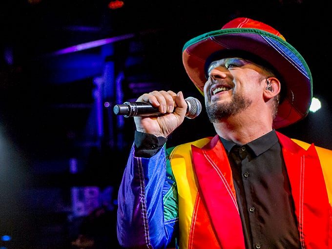 Boy George and Culture perform in Phoenix at the Celebrity