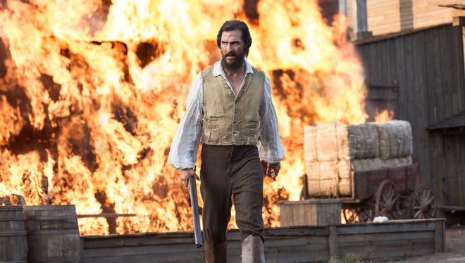 """Matthew McConaughey stars in """"Free State of Jones."""""""