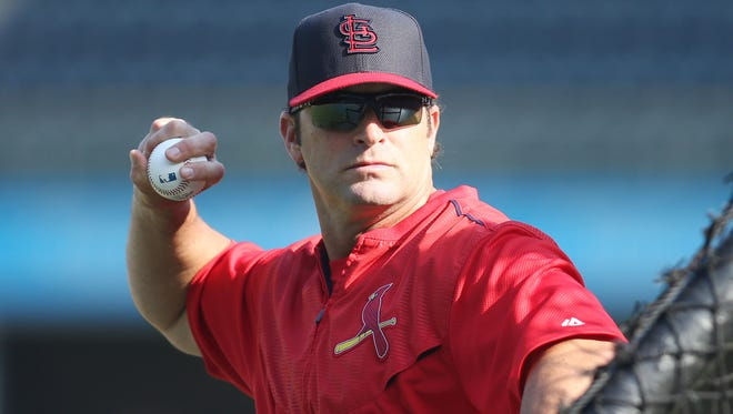 Cardinals manager Mike Matheny
