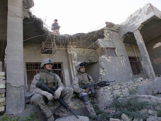 AFP IRAQ-US-UNREST-FALLUJAH