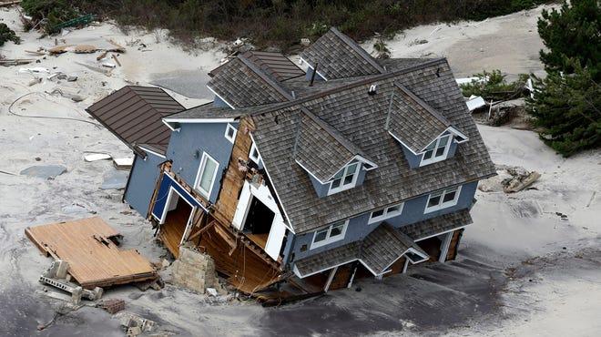 Hurricane Sandy in 2012.