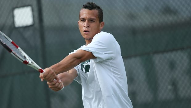 The MSU men's tennis team (10-14, 0-7) takes on a pair of Top-20 opponents this weekend with No. 17 Illinois (15-7, 6-1) on Friday and No. 15 Northwestern (21-2, 7-0) on Sunday.
