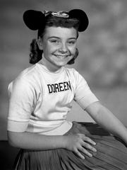 Doreen Tracey was an original member of the Mouseketeers.