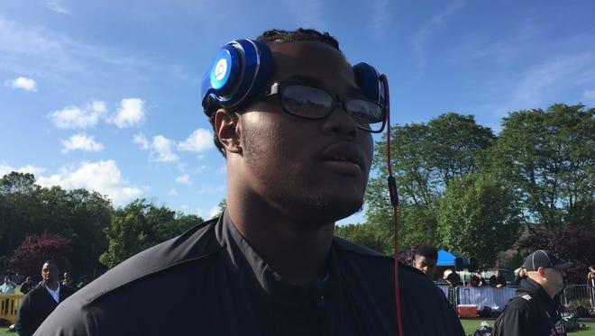 Michigan freshman Rashan Gary