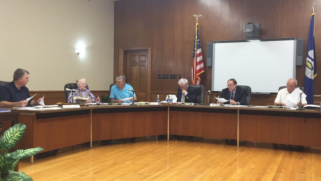 The Ouachita Parish School Board met Tuesday and approved the issue and sale of bonds.