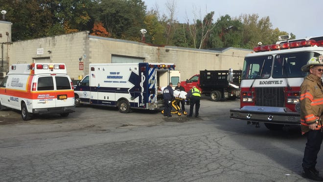 Saturday's emergency preparedness drill tasked first responders with assisting at a mass casualty incident.