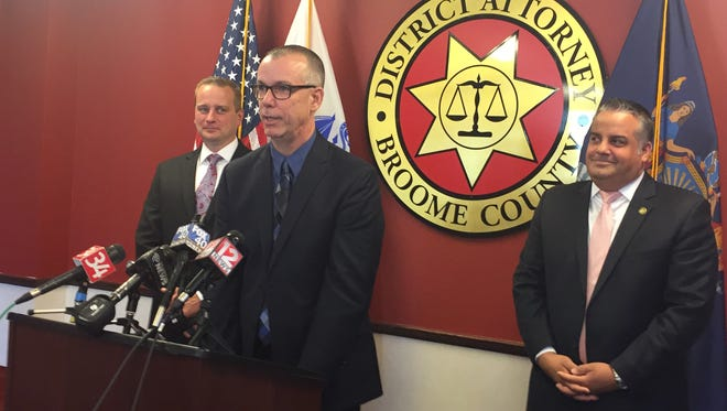 Jeffrey Wagner, a 20-year Binghamton police veteran, will work under the Broome County District Attorney's Office as an overdose death investigator.