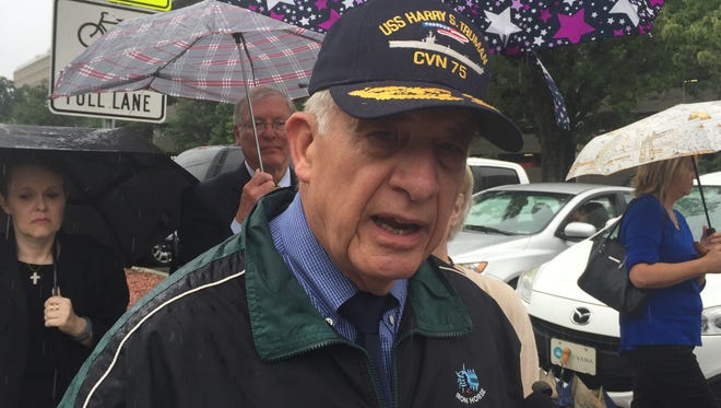 Retired Marine Lt. Gen. John Castellaw, of Crockett County, said the proposed health care bill in the Senate would threaten access to care for as many as 2 million veterans across the country.