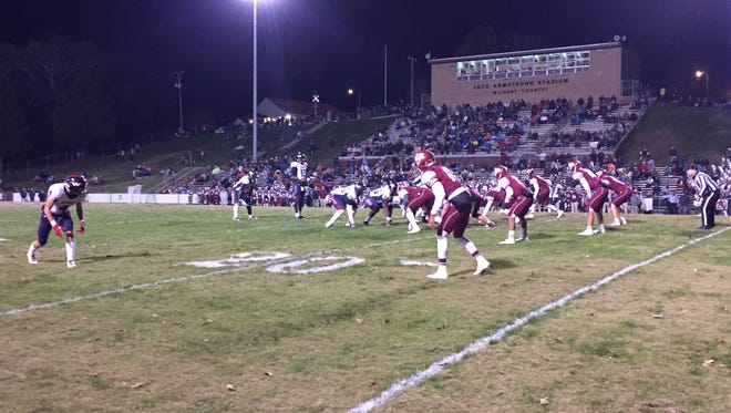 Oak Ridge played West at home on Friday night.