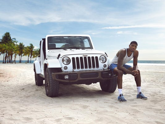 Paul George, Summer of Jeep 2016