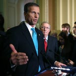 Thune, Noem campaigns will keep Wells Fargo donations