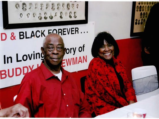 Joe Benford and Elaine Riley