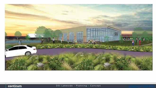 A bus terminal might be converted into an employee fitness center as part of Direct Supply Inc.'s corporate campus redevelopment.
