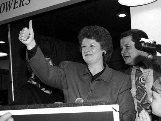 Debbie Stabenow in her early U.S. House days.