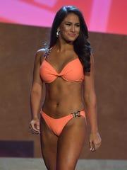 Samantha Havenstrite, Miss Gallatin 2018, won the preliminary
