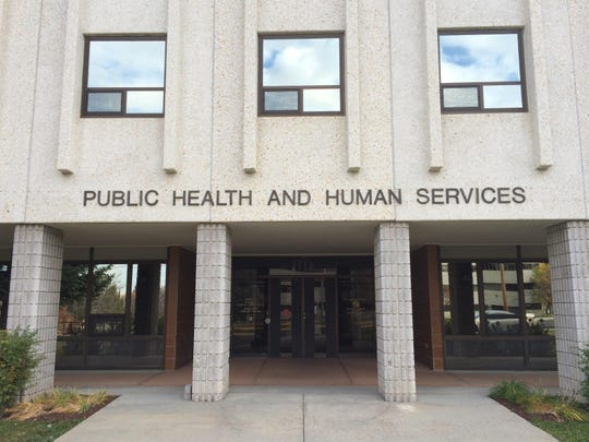 The Department of Public Health and Human Services in Helena.