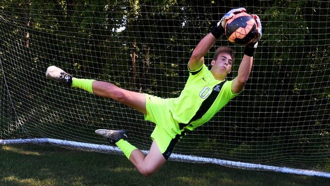 The 2017 All-West Tennessee Boys Soccer Defensive Player of the Year is Jackson Christian's Trace Haggard.