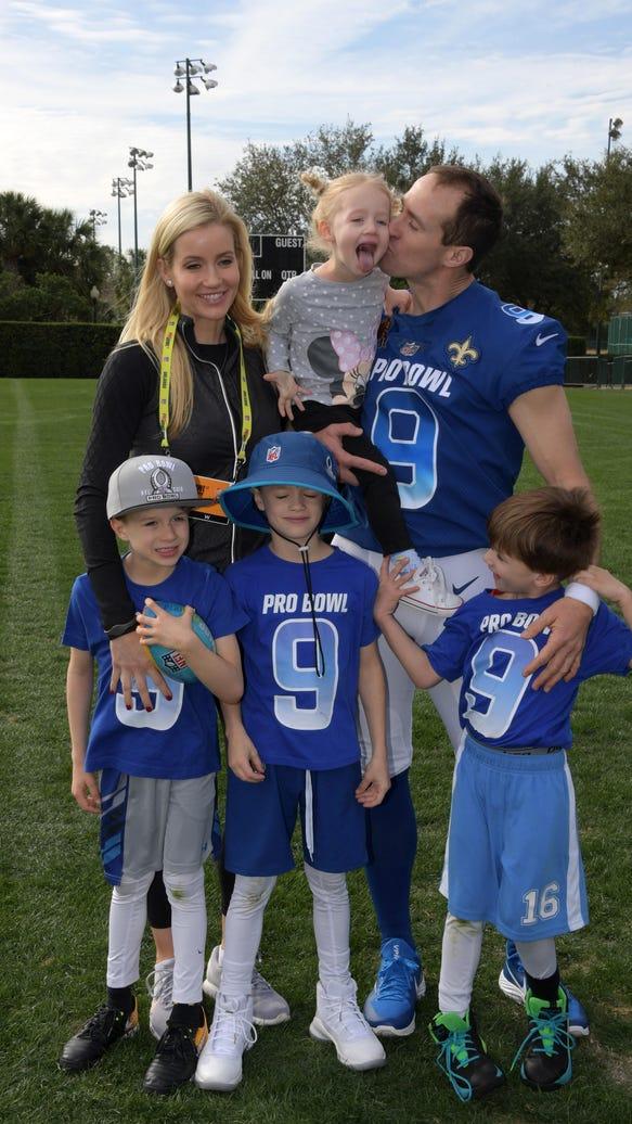 USP NFL: PRO BOWL-NFC PRACTICE S FBN USA FL