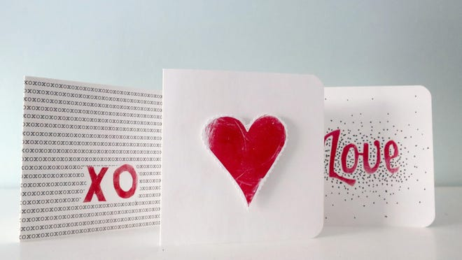 Depending on the method, making your own stamps can be an easy and inexpensive way to customize cards.