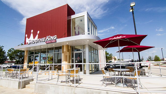 Smoothie King plans to open five stores in the Des Moines metro area in the next five years. Pictured is a  location in Arlington, Va.