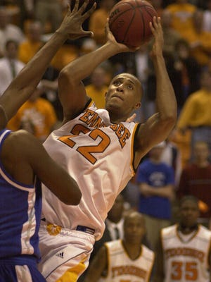 Vincent Yarbrough ranks high in multiple career categories of Tennessee men's basketball.