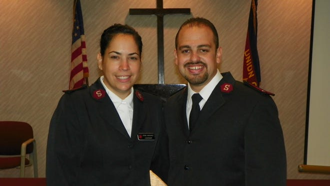 Capts. Alex and Diana Rodriguez, Corps Officers at The Salvation Army in Perth Amboy.