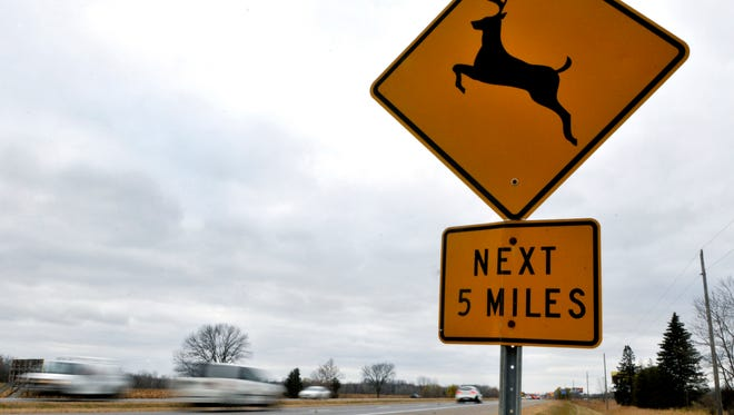 Farmers Insurancefound Minnesota ranks sixth highest in the nation for roadway animal crashes between September and November, with 56% of claims resulting from collisions with animals filed during those three months.