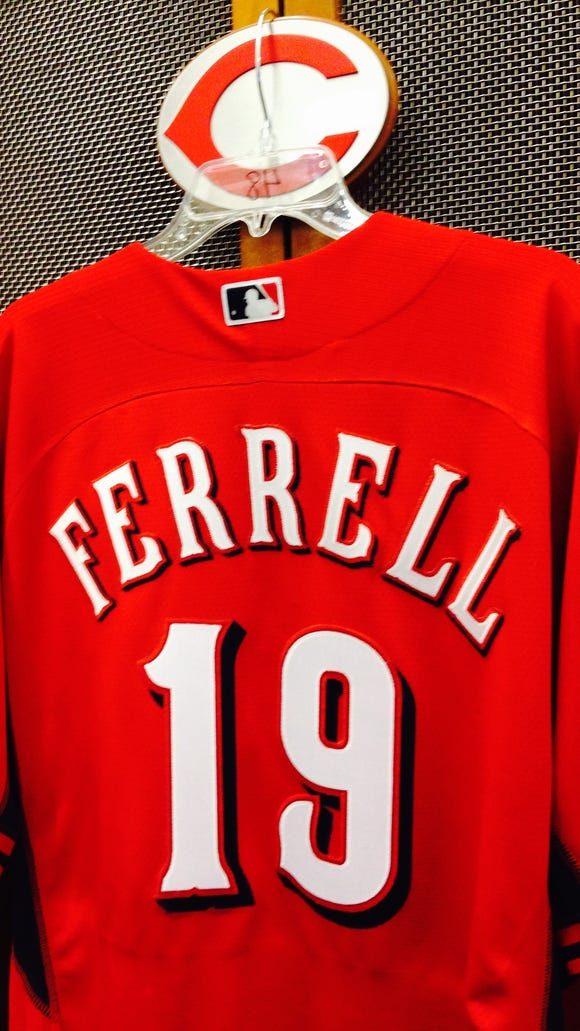 Will Ferrell will wear No. 19 for the Reds.