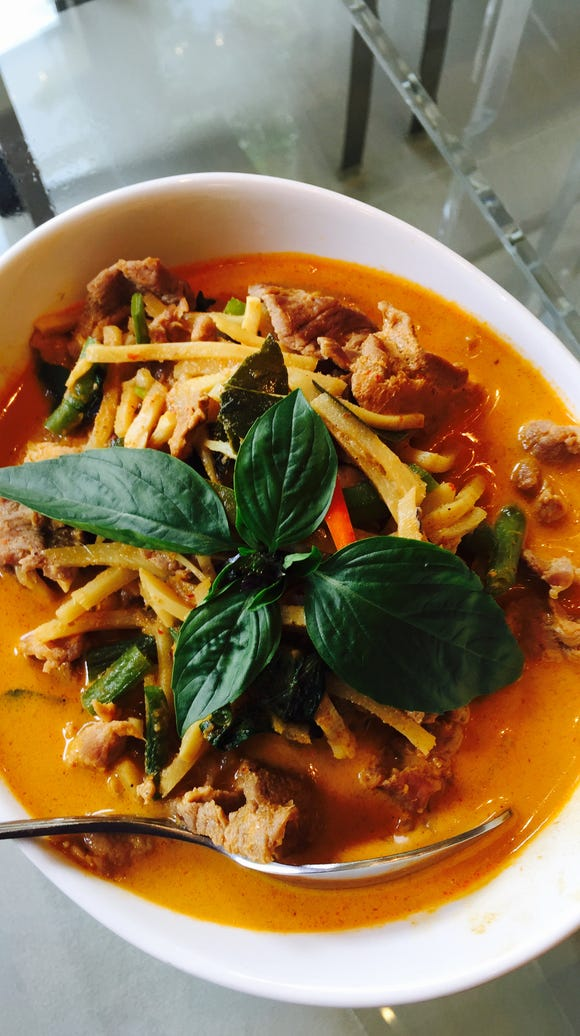 Chicken curry is one of many dishes you'll find at