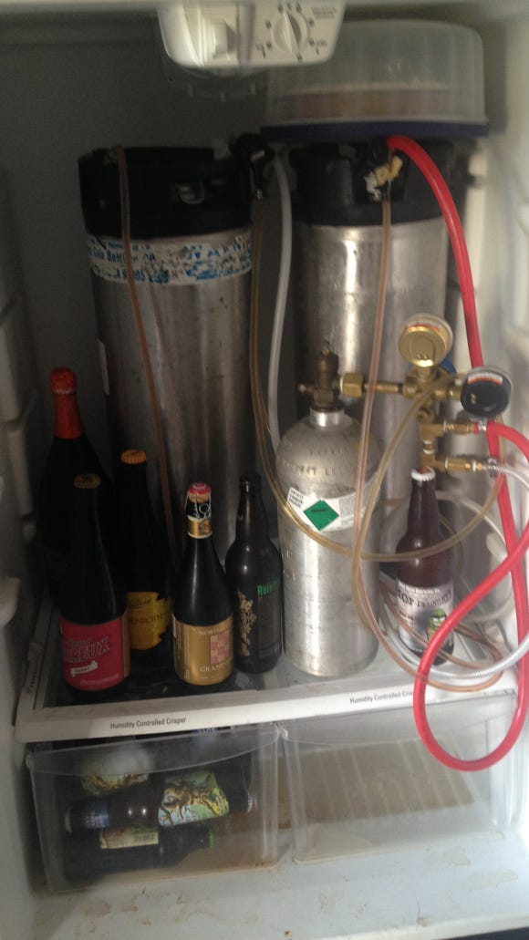 One Salinas home brewer's system.