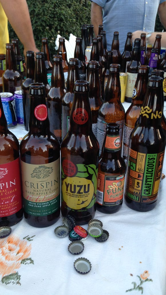 """The """"Lips of Faith - Yuzu"""" by New Belgium Brewing was"""