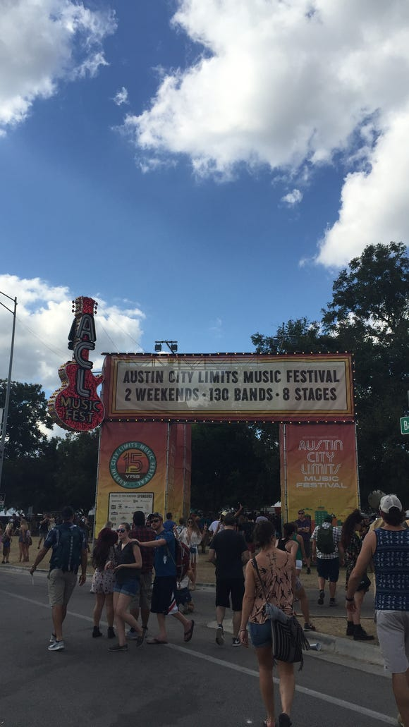 The entrance to Austin City Limits.