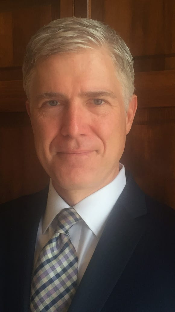 Federal appeals court Judge Neil Gorsuch is said to