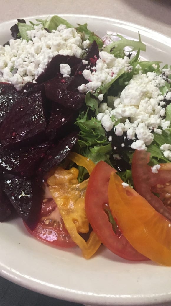 Beet-Nik salad is a mix of flavors at Old Soul Cafe