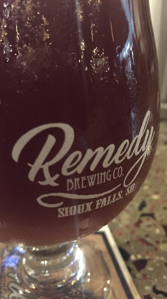 Beer at Remedy, which opened in 2017.