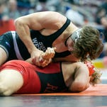 Where do local wrestlers rank state-wide heading into the PIAA 3A tournament?