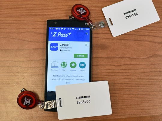 The Z Pass app and scan card are displayed.