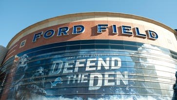 Detroit Lions remove playoff appearance banners at Ford Field