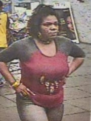 Police are asking for help in identifying this woman, suspected of theft at the Springettsbury Township Walmart.