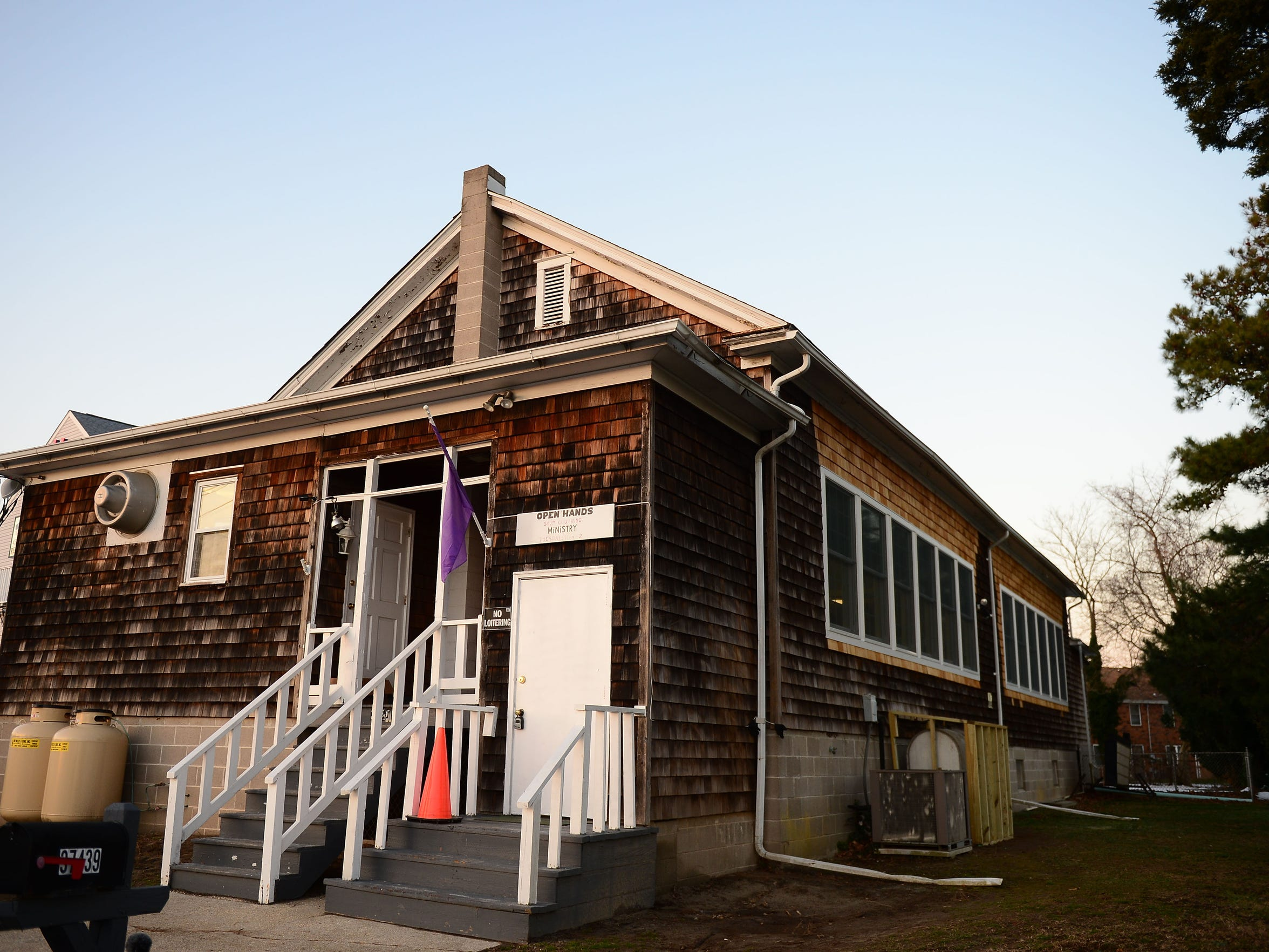 The Immanuel Shelter is located in Rehoboth Beach and provide winter shelter to those experiencing homelessness in the surrounding areas on Monday, Dec. 11, 2017.