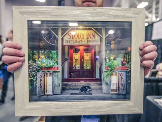 Michelle Pemberton's favorite venue at the Expo is the Story Inn.