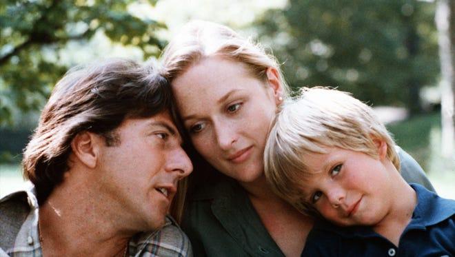 "Dustin Hoffman (from left), Meryl Streep and Justin Henry played a family divided by divorce in 1979's groundbreaking ""Kramer vs. Kramer."""