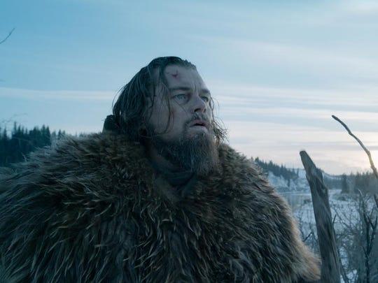 "Leonard DiCaprio in ""The Revenant."""