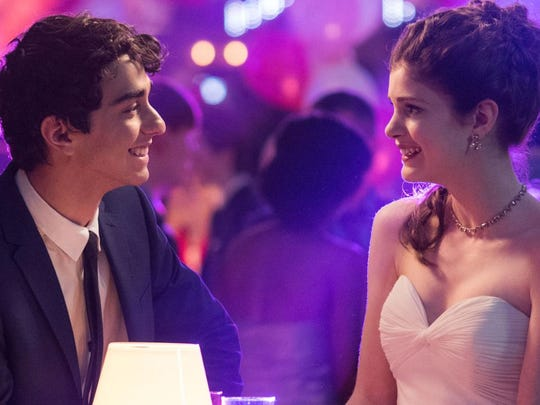 Paris (Elena Kampouris) and Bennett (Alex Wolff) go to prom in one of the movie's better plot lines.