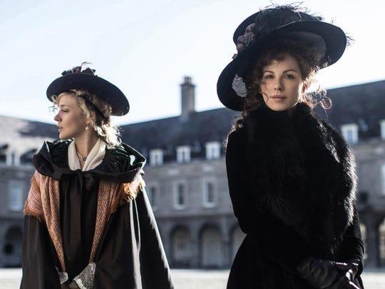 "Chloë Sevigny (left) and Kate Beckinsale star in ""Love & Friendship."""