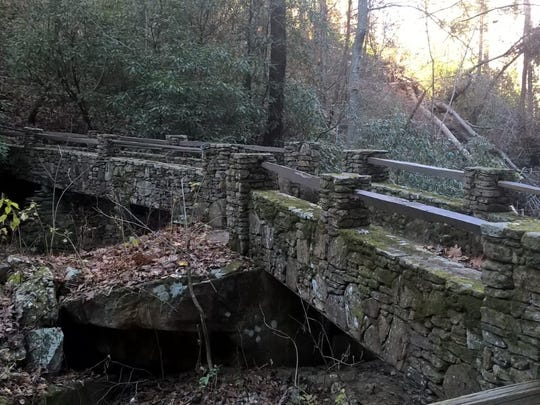 Rustic bridges are just some of the cool views in Saluda,